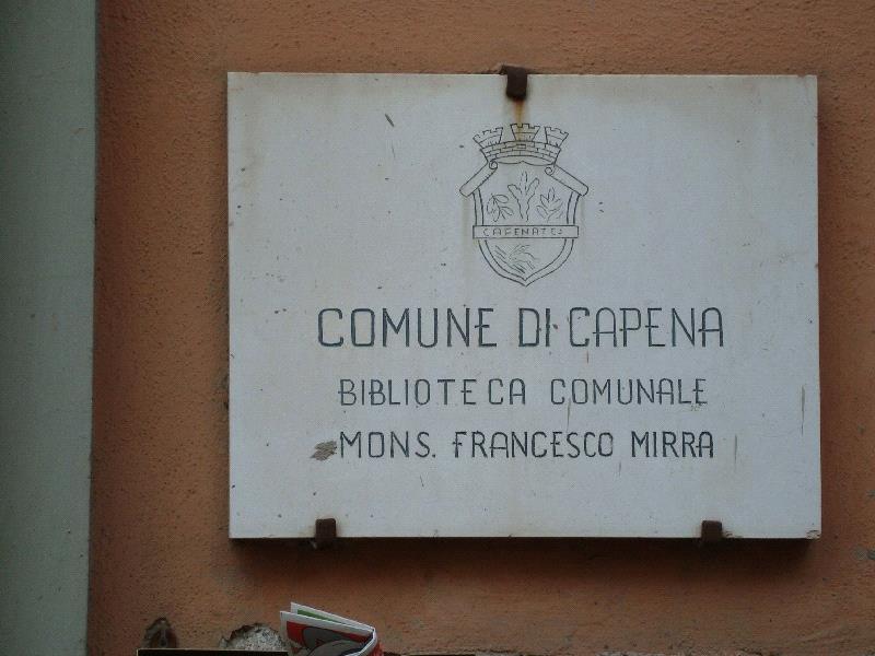 Biblioteca Comunale Mons. Francesco Mirra