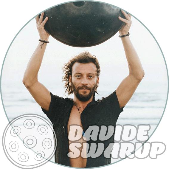 Intervista al maestro di HandPan Davide Swarup