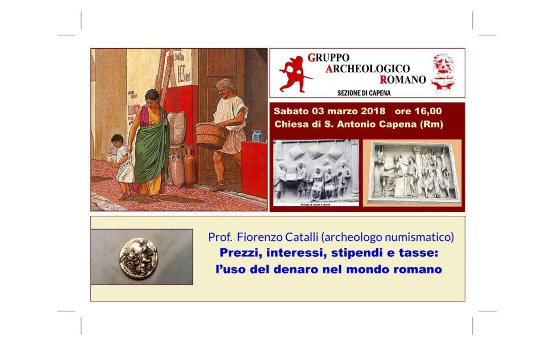 Conferenza sull'uso del denaro nel mondo romano