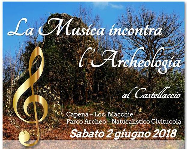 Concerto al Castellaccio: la musica incontra l'archeologia