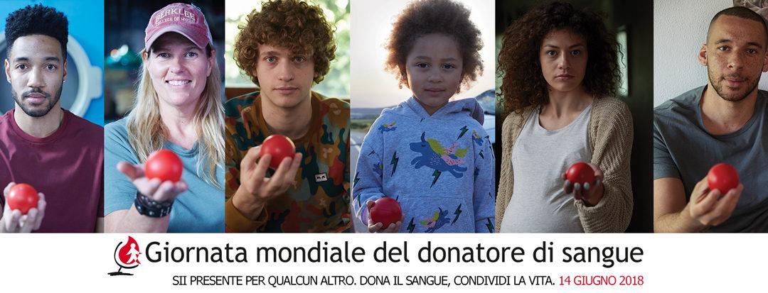 La Giornata Mondiale del Donatore di sangue 2018
