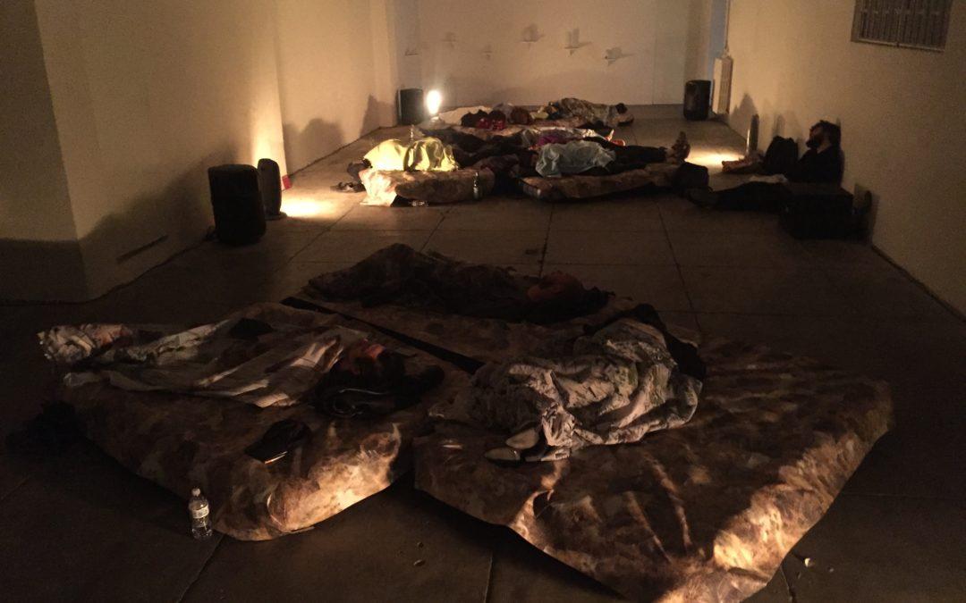 """""""SPARKLING MATTER"""" Sleeping Concert"""