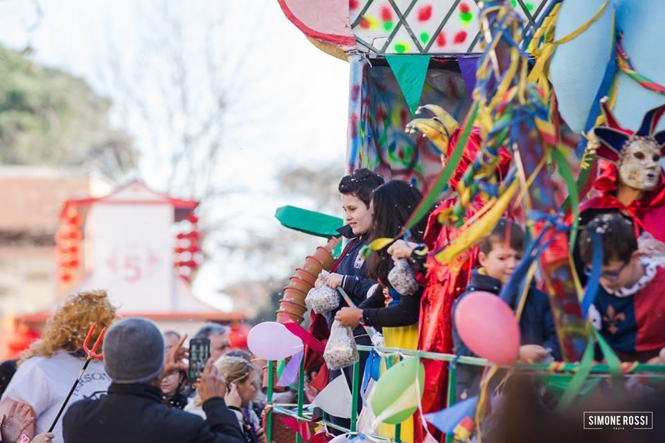 Carnevale in strada a Capena, 4 Febbraio 2018