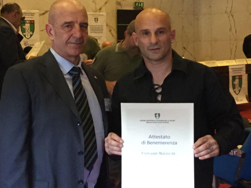 Il CONI premia Francesco Malatesta di Capena