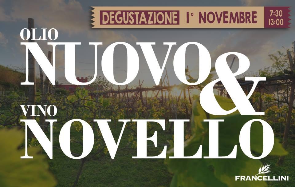 Degustazione Olio Nuovo e Vino Novello al Forno Francellini