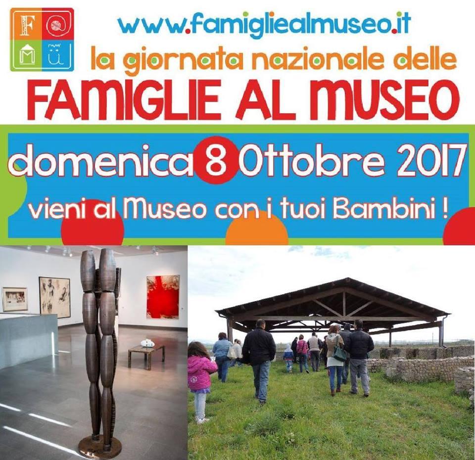 Famiglie al museo, domenica 8 Ottobre 2017