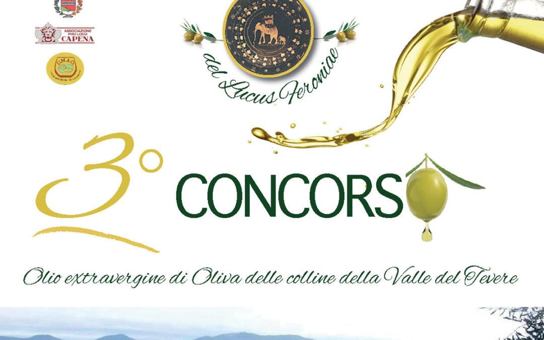 """Premiazione 3° Concorso """"Miglior Olio delle colline della Valle del Tevere"""""""