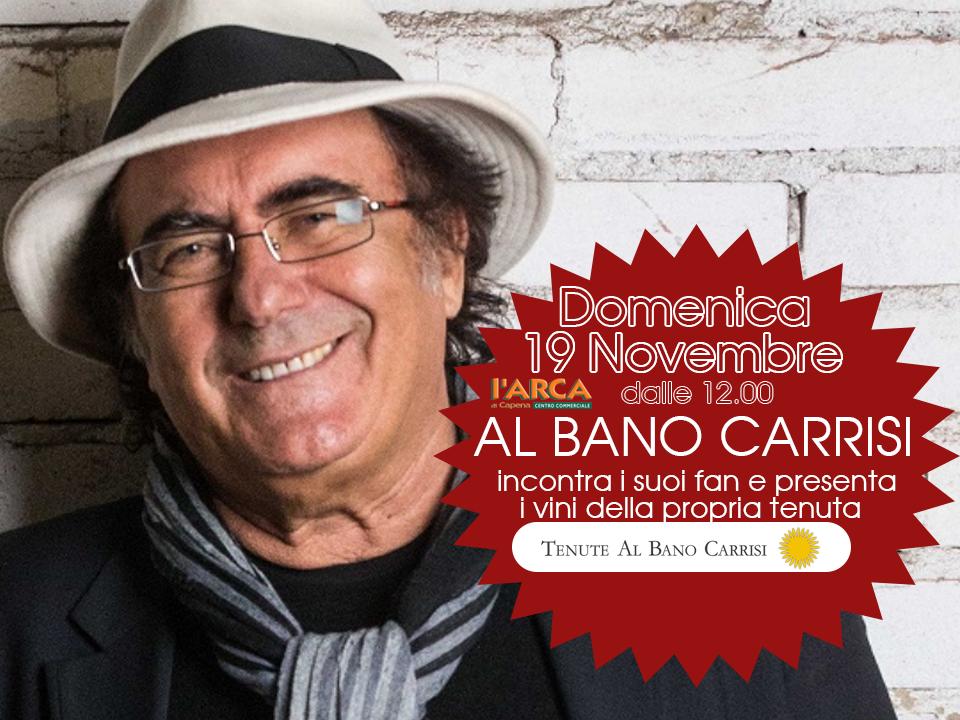Al Bano all'Arca di Capena, 19 Novembre