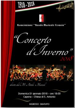Concerto d'Inverno 2018, 21 Gennaio