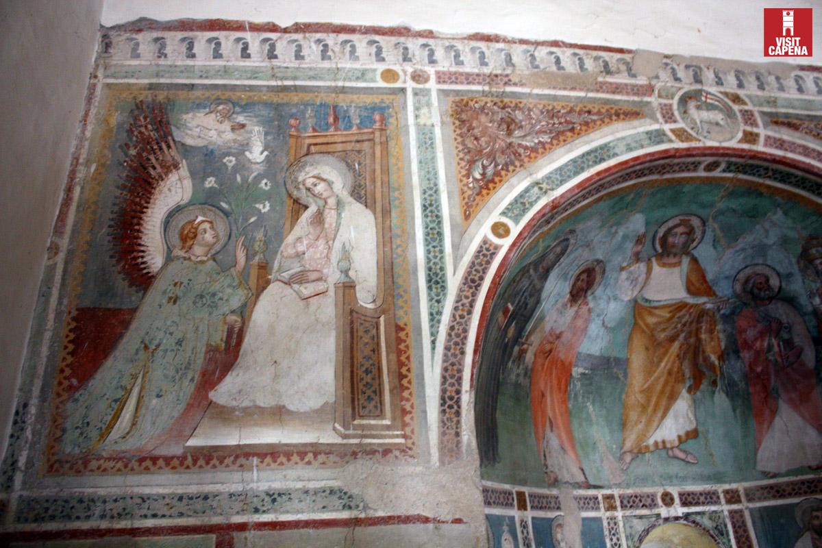 Gli affreschi della chiesa di San Leone