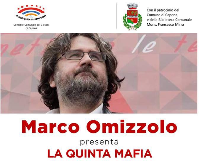 """Marco Omizzolo presenta """"La quinta mafia"""""""