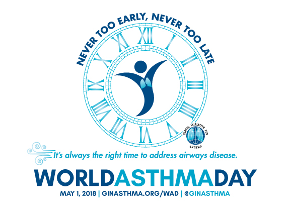 Giornata Mondiale dell'Asma 2018