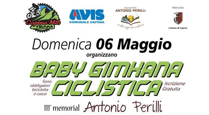 Baby Gimkana ciclistica III° Memorial Antonio Perilli
