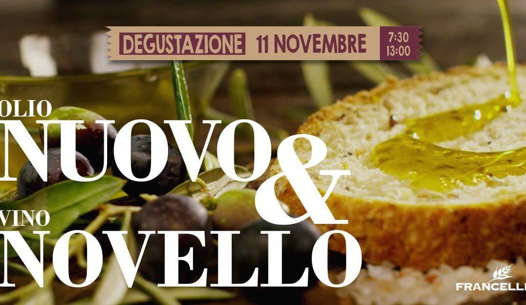 Degustazione Olio Nuovo e Vino Novello 2018