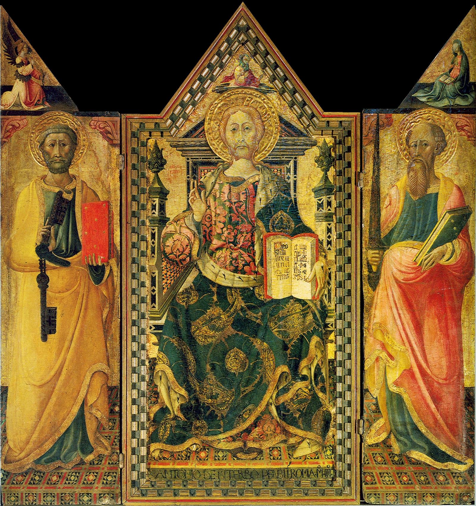 L'Annunciazione di Antonio da Viterbo esposta per la prima volta a Capena
