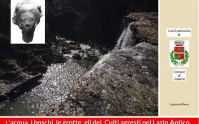 """Convegno """"L'acqua, i boschi, le grotte, gli dei: culti agresti nel Lazio antico"""""""