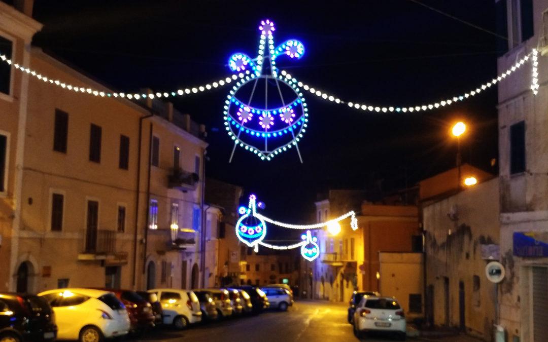 Luci di Natale a Capena, grazie a Capenapuntonet