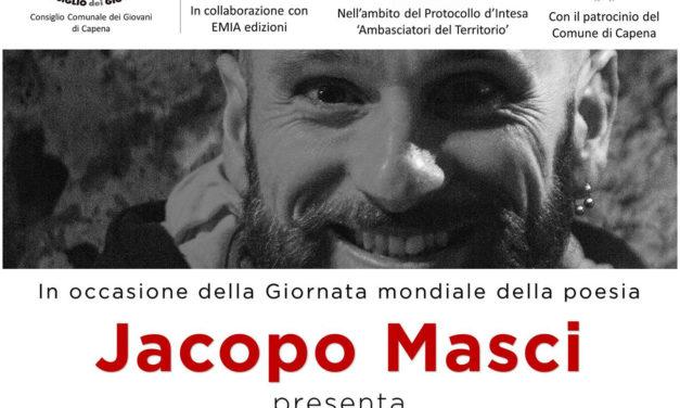 """Jacopo Masci presenta """"Nandryv"""""""