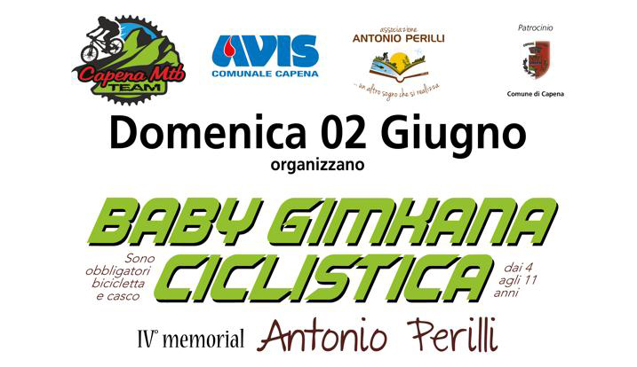 Baby Gimkana ciclistica 2019: IV° Memorial Antonio Perilli