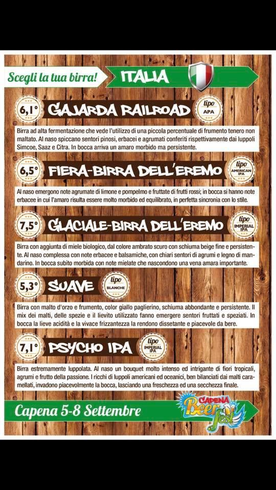 capena beer fest 2019 italia